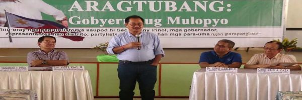Tapatan with Department of Agriculture (DA) Secretary and ACPC Chair Emmanuel F. Pinol