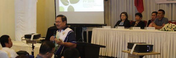 Department of Agriculture Secretary Emmanuel Piñol helds forum at BAPTC