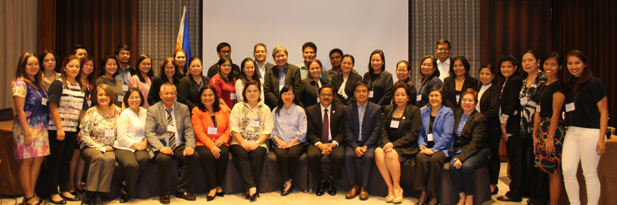 Participants from APRACA member institutions in Philippines (BSP, Land Bank, CDA, ASKI, AGFP, KMBI, PCIC, CARD and 1st Valley Bank), DA, ACPC and other government/non-government agencies attended the national level dissemination forum on Pilot Testing of Rural Finance Best Practices in Pasig City on 14 June 2018.