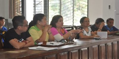 ACPC Executive Director Jocelyn Alma Badiola (fourth from right) discussed the program features of PLEA to representatives of farmer associations of Banisilan