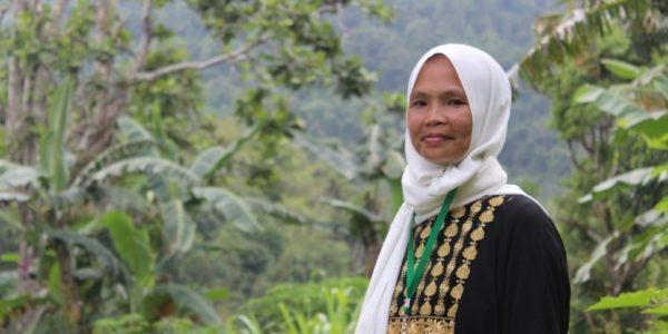 Manager Jamalia Abdulmalic of the Al Sahara Producers Cooperative in Raya Guimba, Marawi City