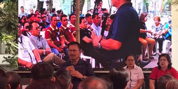 DA Secretary Emmanuel Piñol during the PLEA-NFA launching last January 28, 2019 in Tacurong City, Sultan Kudarat